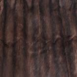 Fuchsia Vintage Fur & Velvet Throw