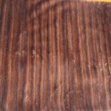 Tangerine Vintage Fur & Velvet Throw