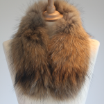 Small Raccoon Fur Collar
