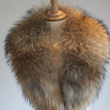 Medium Raccoon Fur Collar