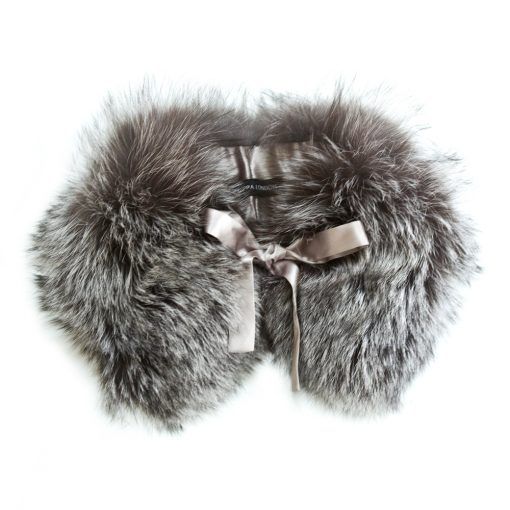 Small Silver Fox Fur Collar