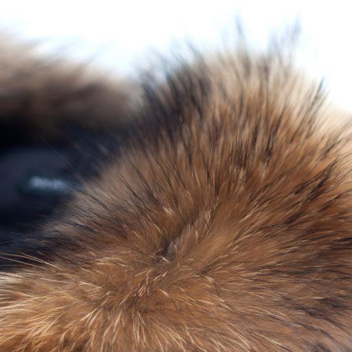 Medium Natural Raccoon Fur Collar