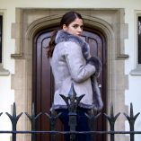 Pale Grey Reversible Sheepskin Jacket