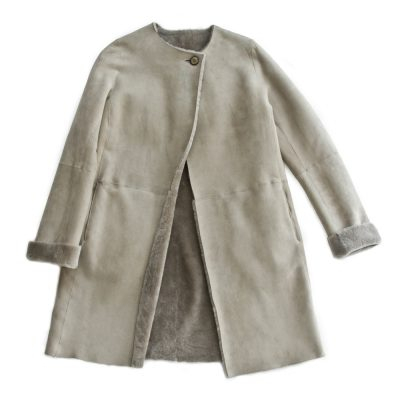 Blue Grey Toscana Jacket - Philippa London