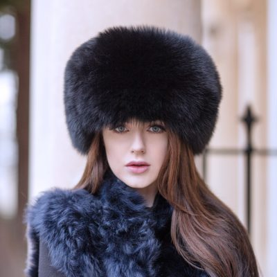 Genuine Fox Fur Hat