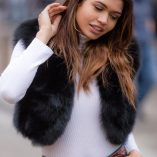 Martha Black Fox Fur Bolero