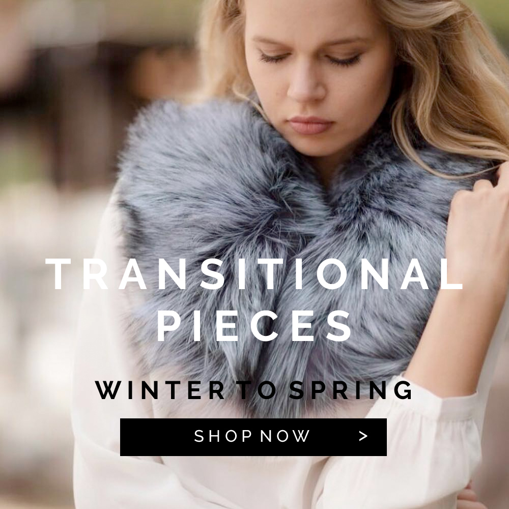 Transitional Pieces from Winter to Spring