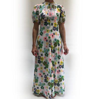 Daisy Vintage Maxi Dress