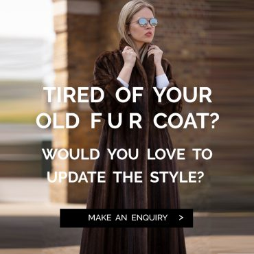 Tired of your old fur coat