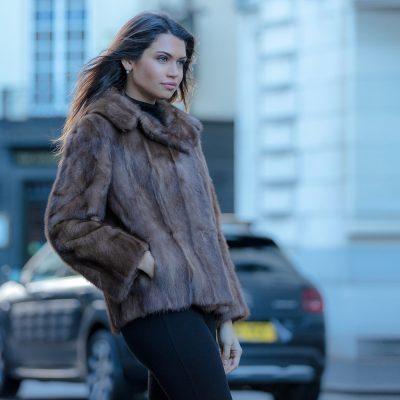 Chloe Vintage Mink Fur Jacket