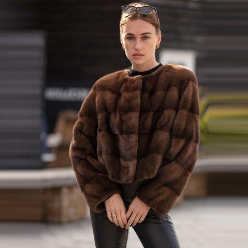 Katie Mink Fur Jacket