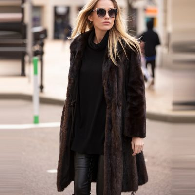 The Mila Vintage Mink Fur Coat