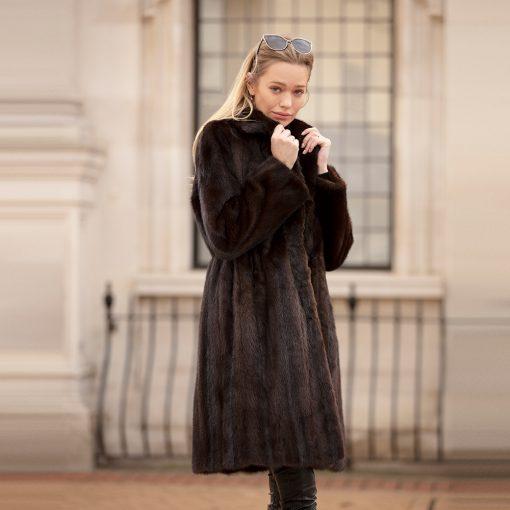 The Mila Vintage Mink Fur Coat
