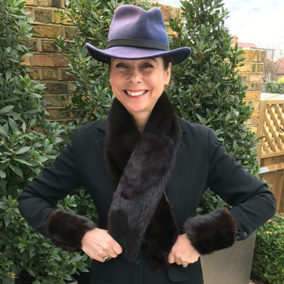 Upcycled Brown Mink Fur Cuffs