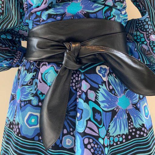 Cici Soft Leather Black Belt