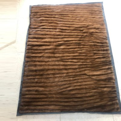 Vintage Mink Fur Throw