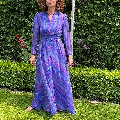 Joanna Vintage Maxi Dress